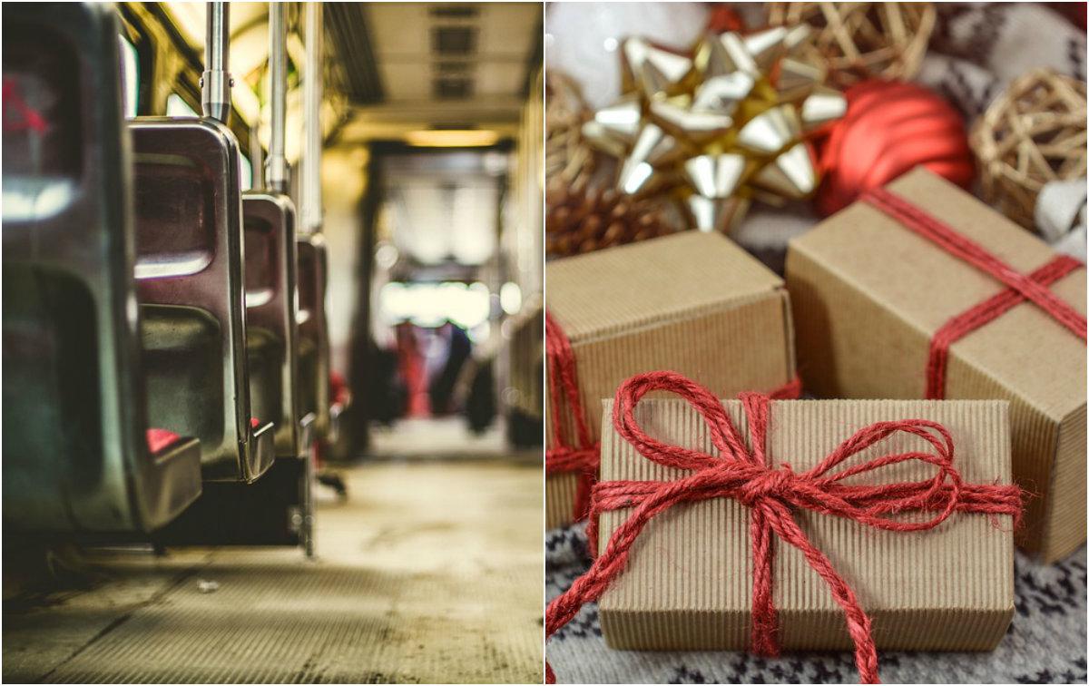 Priče o ljudima velikog srca: Vozač autobusa mesecima odvajao novac od plate, pa svim putnicima kupio poklone