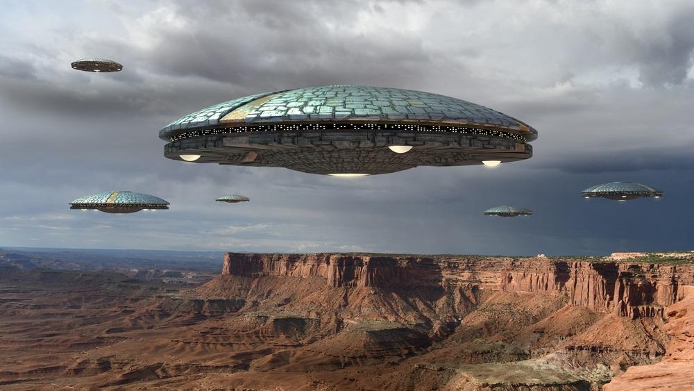 Nasred reke formiran čudan disk, stanovnici veruju da je u pitanju otisak svemirskog broda (VIDEO)