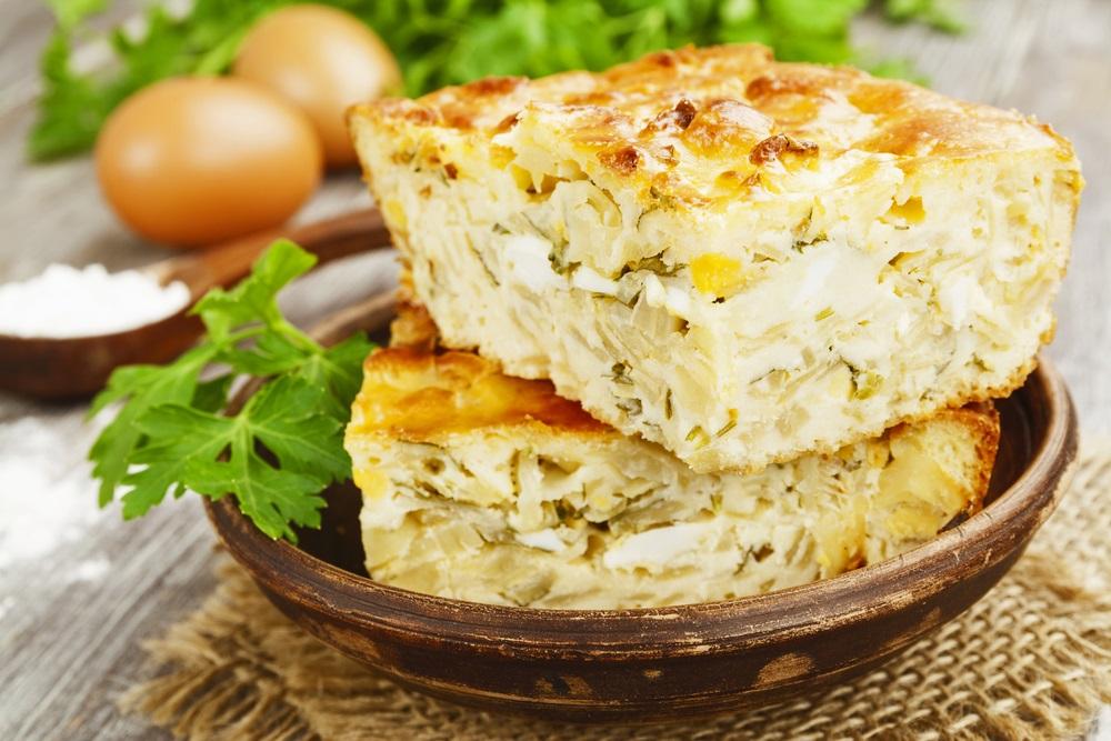 Neverovatan recept: Pita od piletine i mladog luka