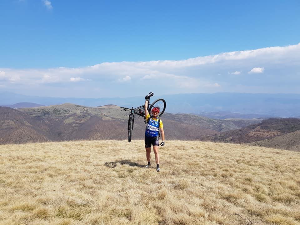 Nikola je na bicikli proputovao ceo Balkan i ima snažnu poruku za sve ljude (FOTO)
