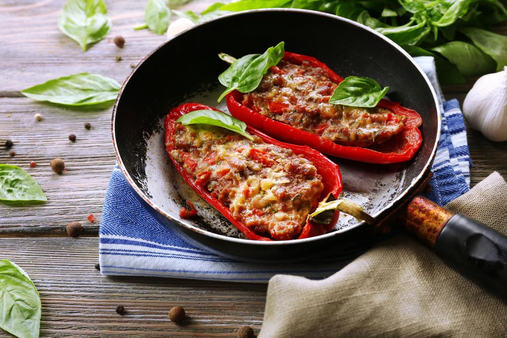 Brzo i lako: Zapečena junetina sa paprikom