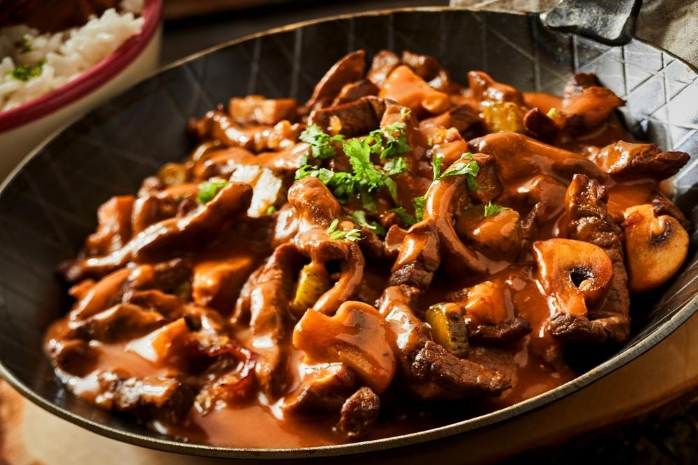 Posni lagani obrok: Punjene pečurke sa pirinčem